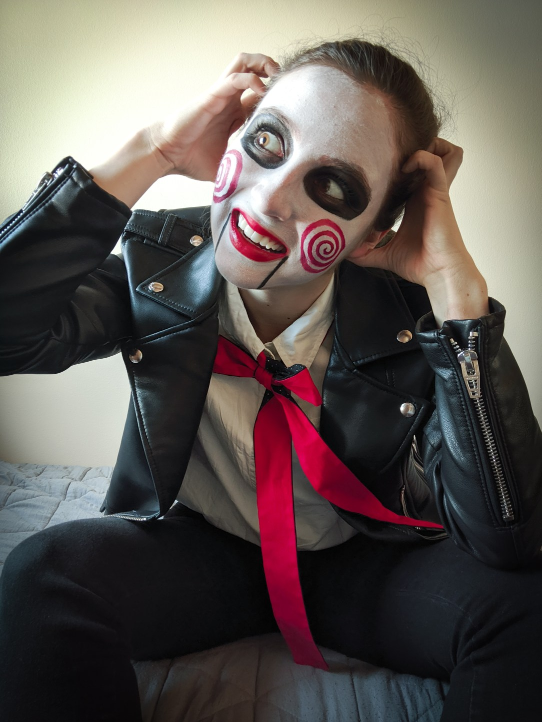 Billy the puppet, Saw costume