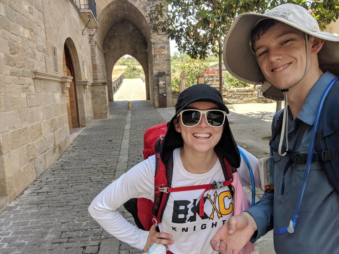 Puente la Reina, Camino Frances, pilgrimage