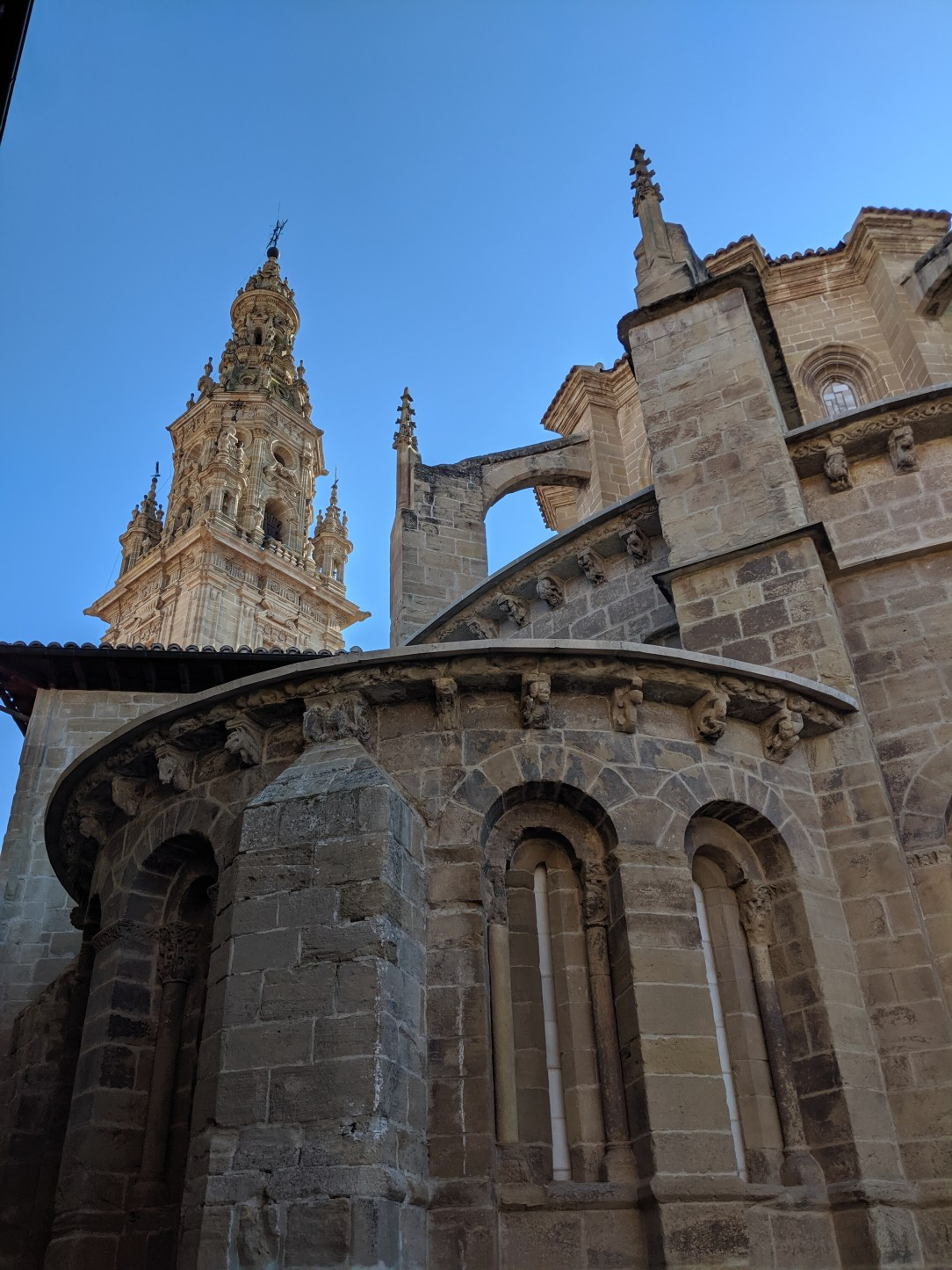 Spain, romanesque church, Camino Frances, Camino de Santiago