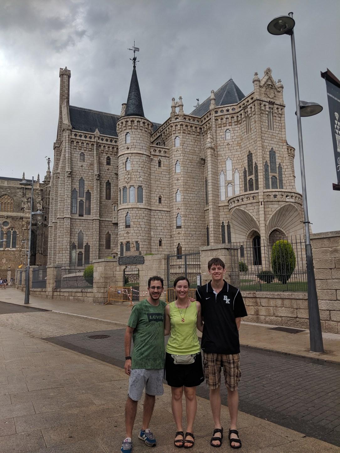 Astorga, Spain, Gaudi's Palace, Castilla y Leon