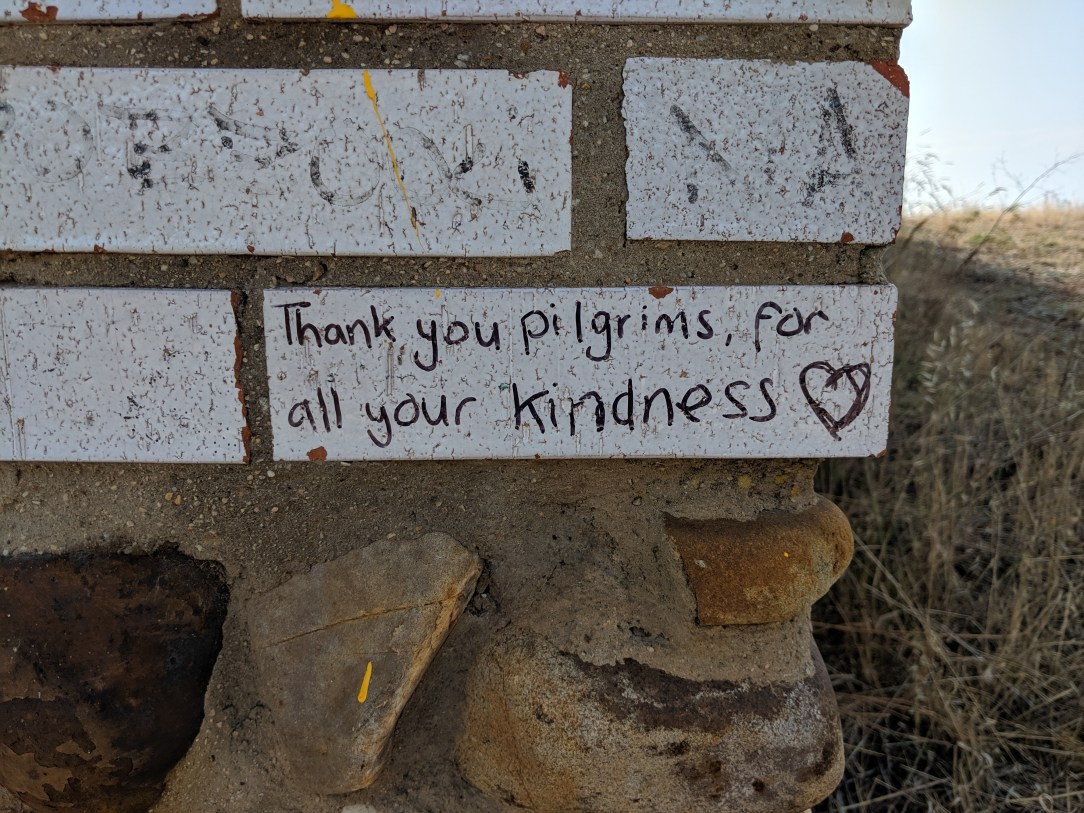 thank you pilgrims, for all your kindness