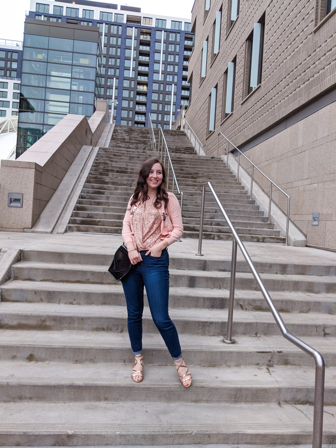 rose gold, Valentine's Day, self-love, body positive, Denver fashion blogger