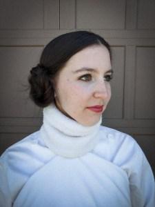 Princess Leia hairstyle, Princess Leia makeup