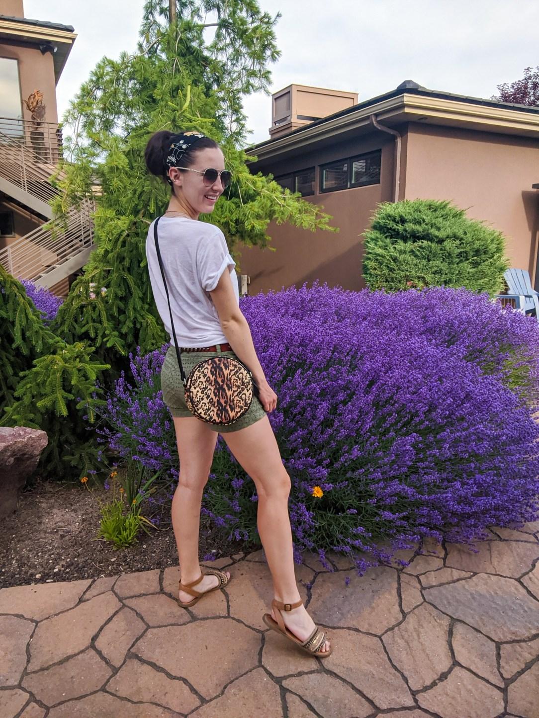 circle-purse-leopard-bag-brown-sandals-summer-style