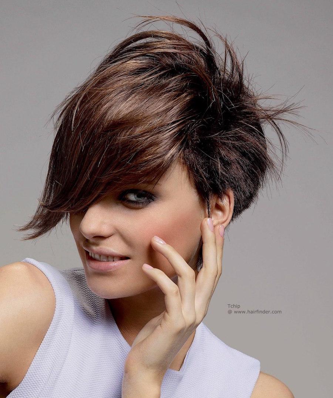 Longer Bangs Hairstyles