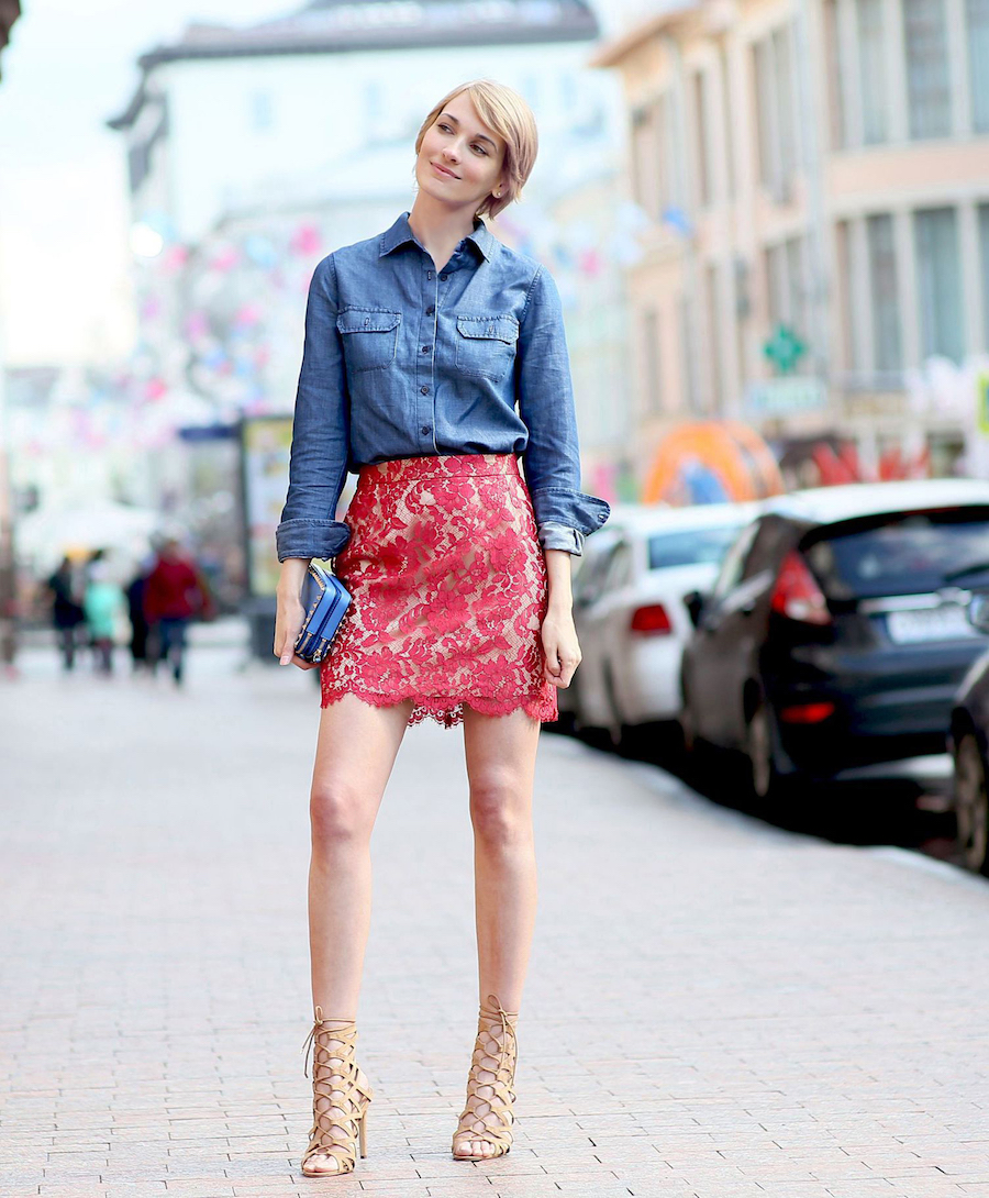 lace skirt1