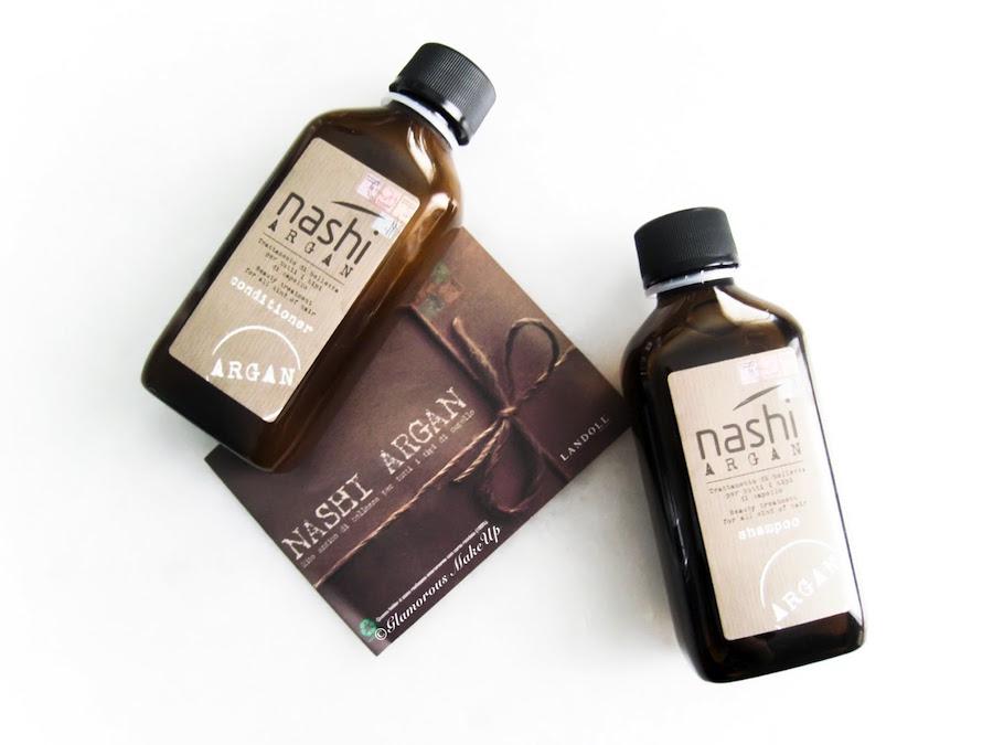 Nashi Argan shampoo and balm