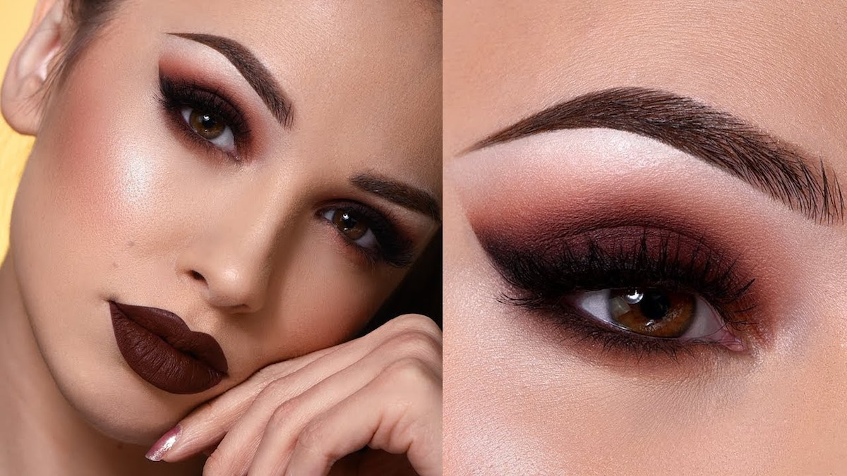 Winter makeup: dark lipstick ideas