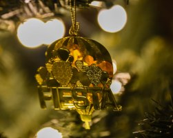 Ornament purchased at the International Hot Air Balloon Fiesta 2015