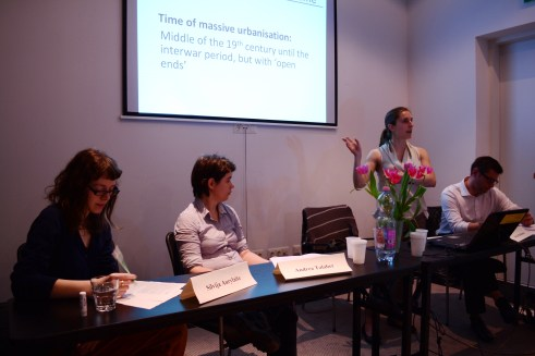 Power Relations within the City: Alexia Bumbaris, Silvija Aurylaitė, Andrea Talaber. Chair: Markian Prokopovych