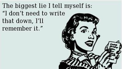 Writing lies