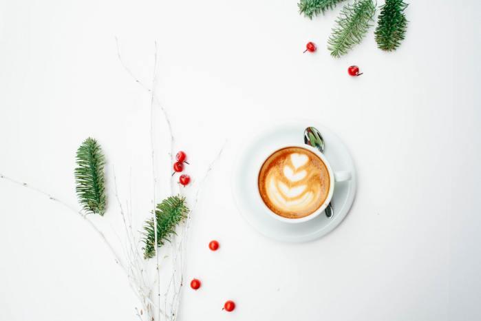 coffee and christmas