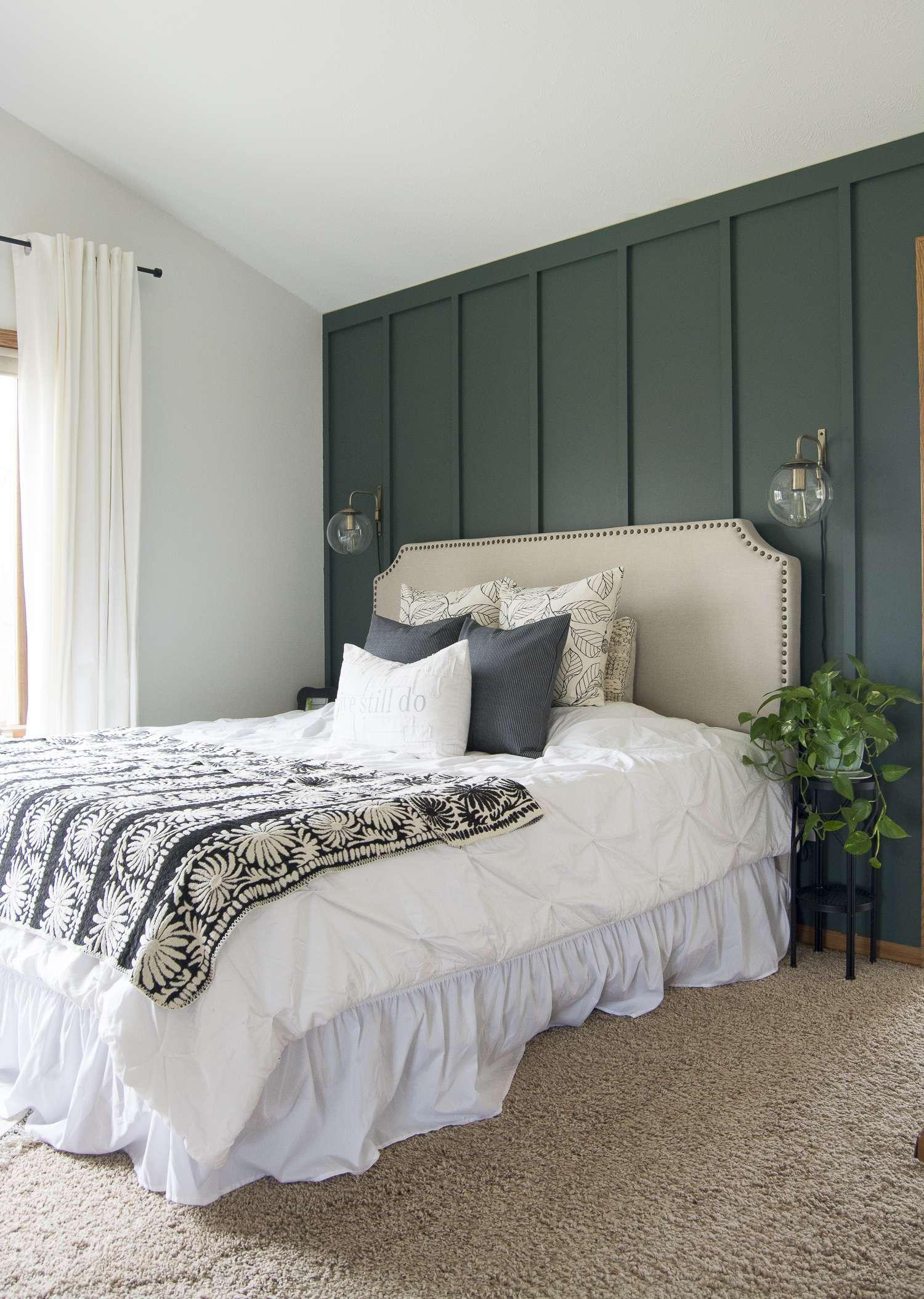 Modern Farmhouse Bedroom Decor: Finishing Touches   Grace ... on Bedroom Farmhouse Decor  id=91714
