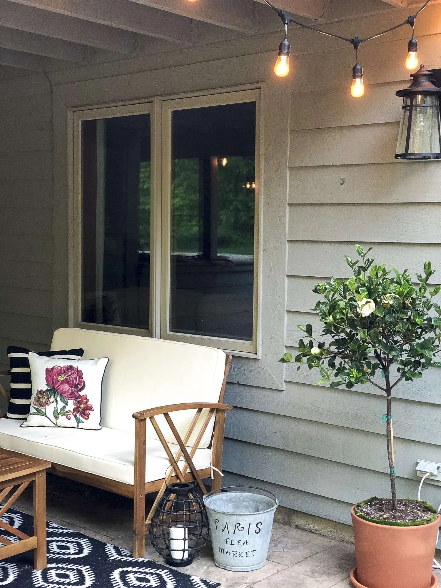 Five Easy Updates to Your Outdoor Living Space | Grace In ... on My Backyard Living id=18849