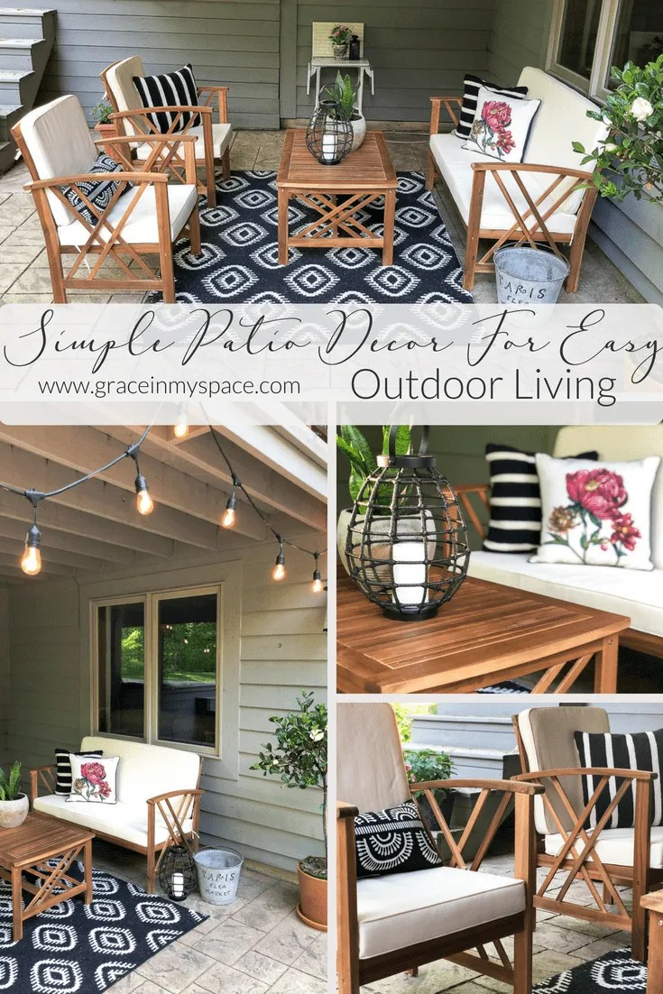 Five Easy Updates To Your Outdoor Living Space Grace In My Space