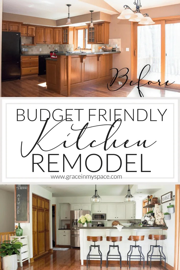 A lot of people think it will cost a lot to give their bathrooms a makeover, but there are lots of tips and tricks to keep bathroom renovation costs down. Kitchen Remodel on a Budget | The Reveal | Grace In My Space
