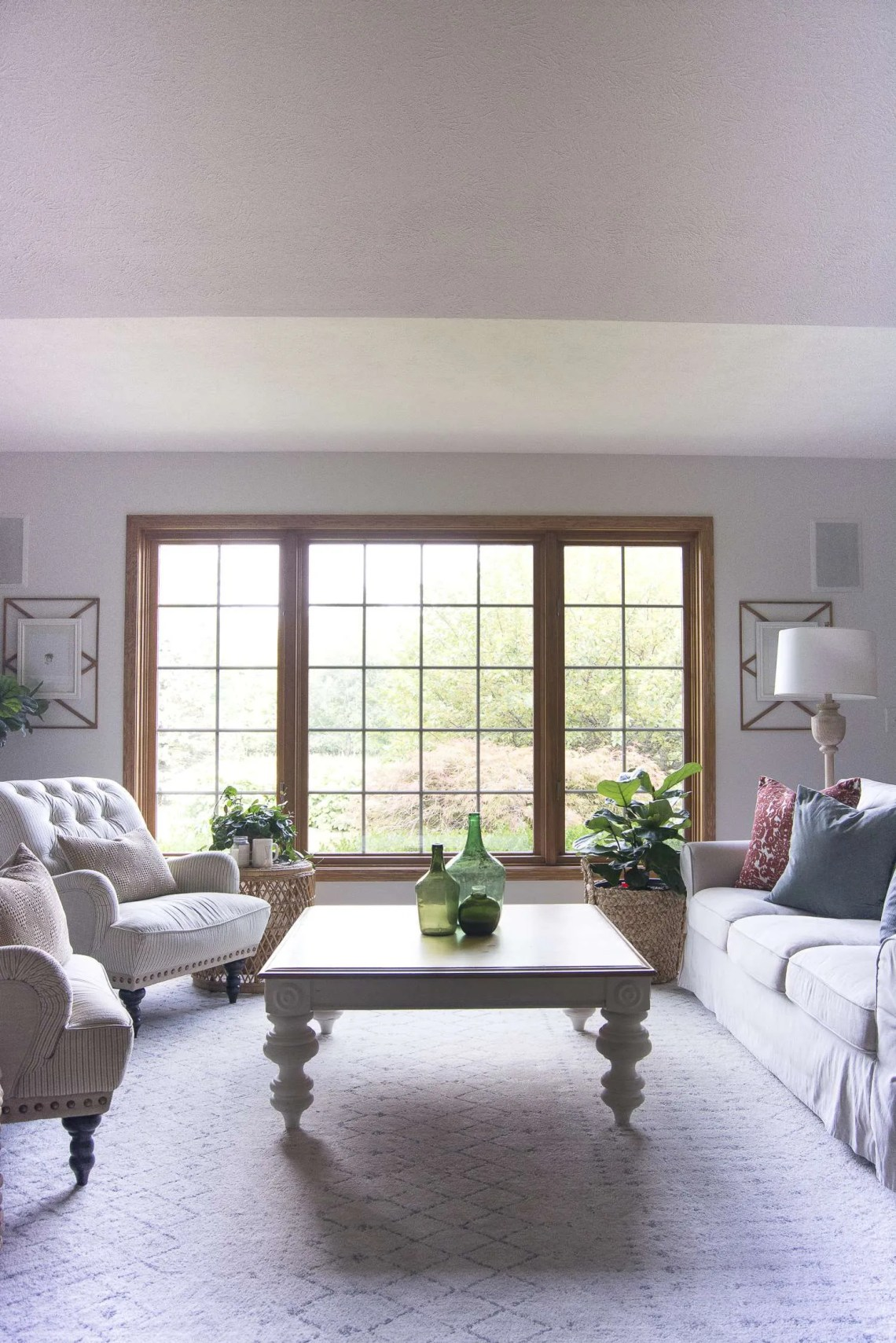 Vintage Farmhouse Decor | Living Room Update | Grace In My ...