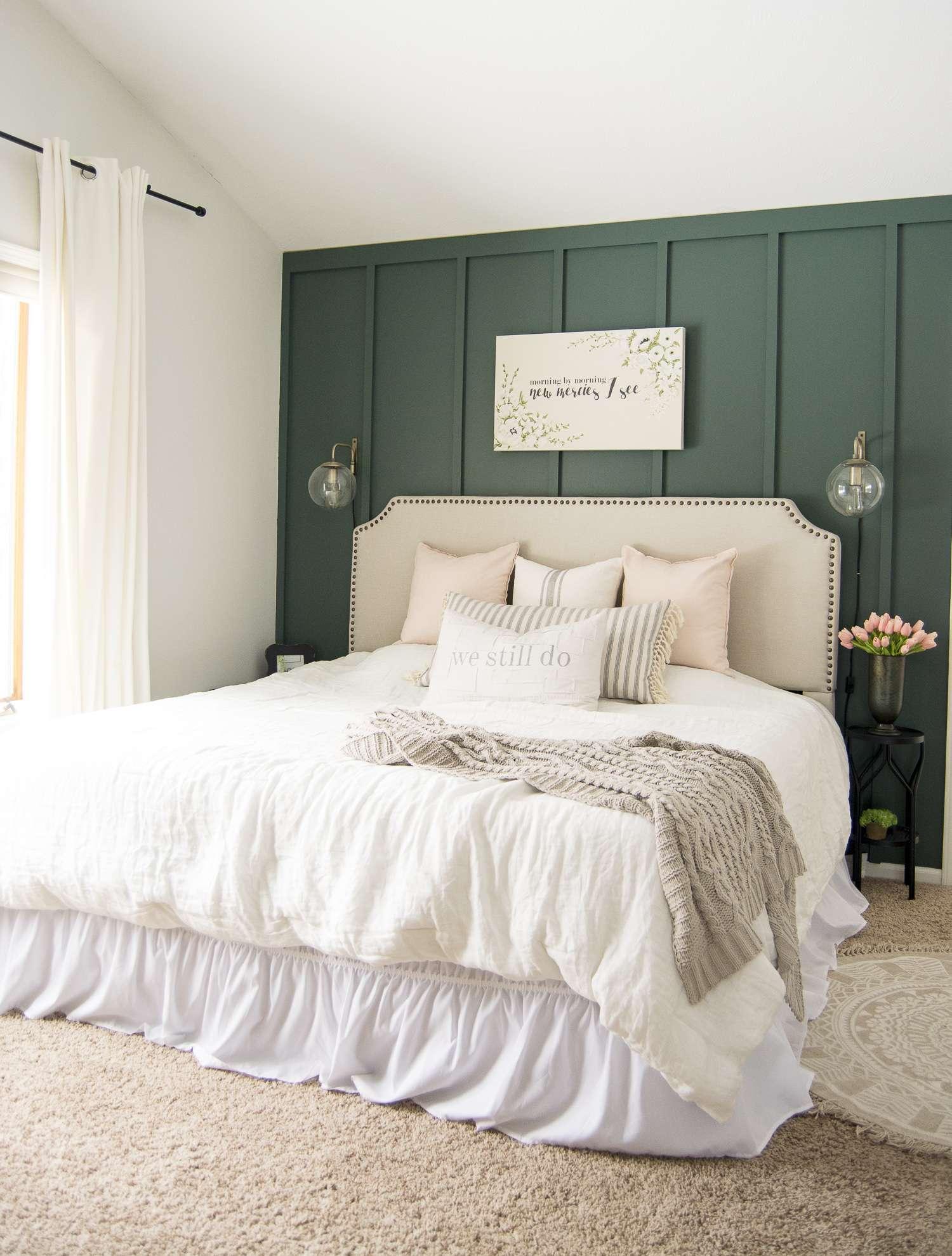 Key Elements of a Modern Farmhouse Bedroom   Grace In My Space on Bedroom Farmhouse Decor  id=91148