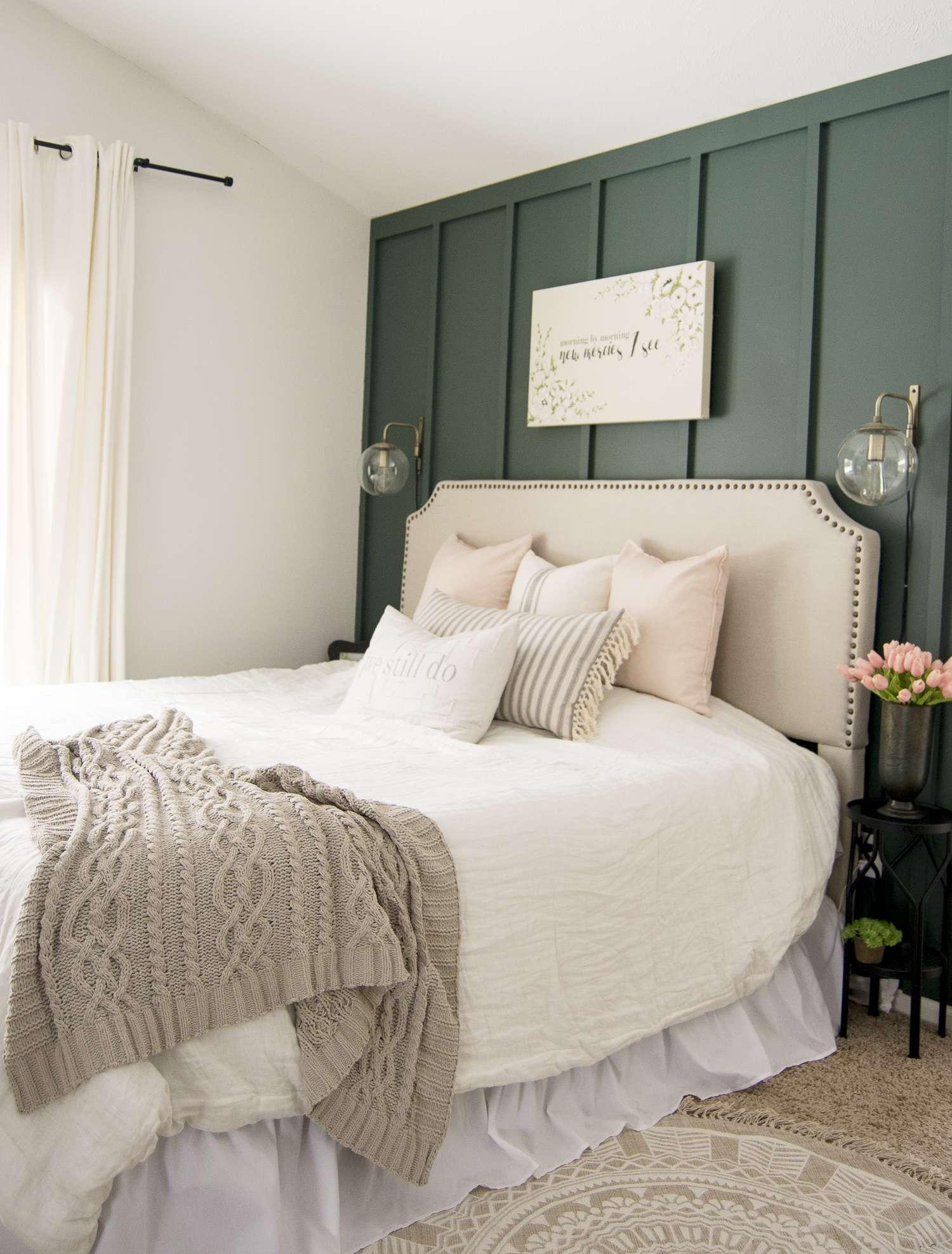 key elements of a modern farmhouse bedroom grace in my space on modern farmhouse master bedroom ideas id=92532