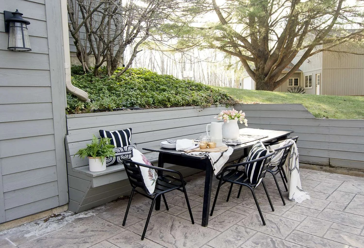 How to Style Your Back Patio for Entertaining | Grace In ... on My Patio Design id=60733