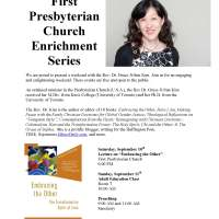 First Presbyterian Church Bloomington: Book Talk, Teach and Preach