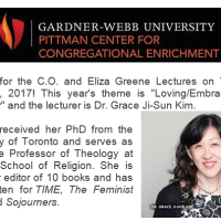 C.O. and Eliza Greene Lecture Speaker: Gardner-Webb University