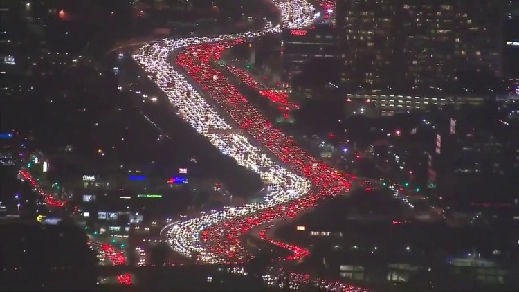 405 thanksgiving traffic