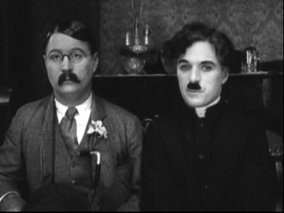 Syd and Charlie Chaplin