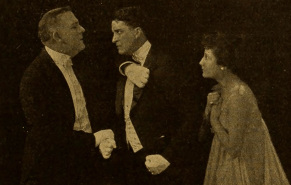James C. Carroll, Bryant Washburn, Hazel Daly in Skinner's Dress Suit