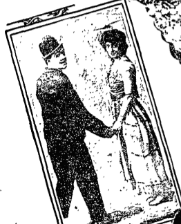 With his partner, Mae Dahlberg