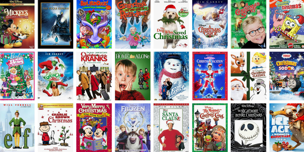 list of christmas filmsshows for when you cant think what to watch - List Of Christmas Films