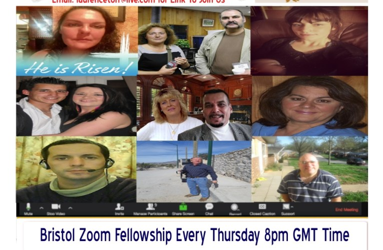 Right From Our Website Live Zoom Fellowship Every Thursday 8pm GMT Time (London)