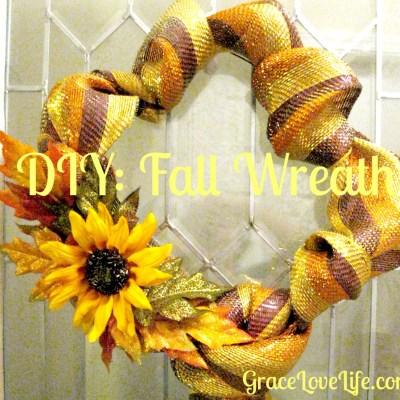 DIY: Fall Wreath
