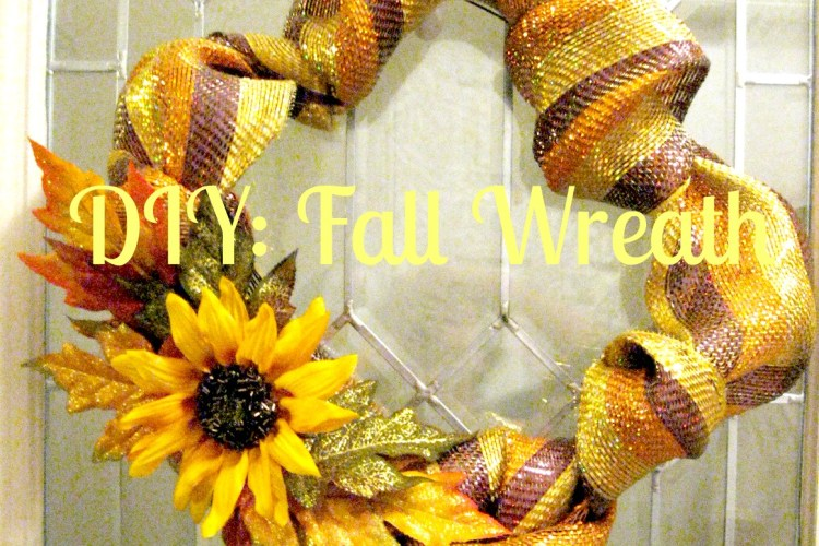 DIY: Fall Wreath
