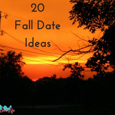 20 Fall Date Ideas