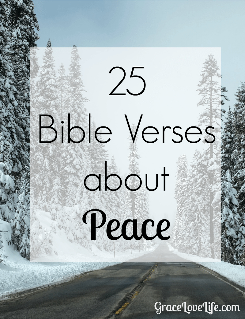 Bible Quotes About Peace Prince of Peace: 25 Bible Verses About Peace | Grace, Love, Life  Bible Quotes About Peace