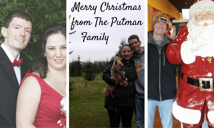 Merry Christmas from The Putman Family