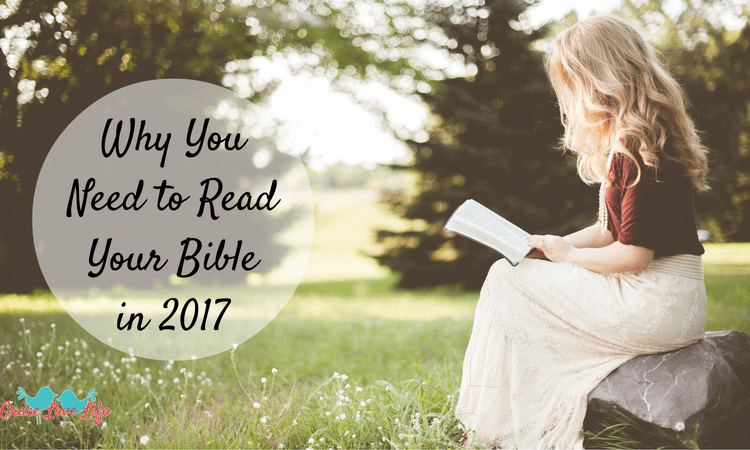 Why You Need to Read Your Bible in 2017