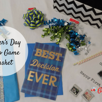 Father's Day Video Game Gift Basket