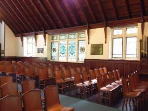 Grace Memorial Chapel Interior