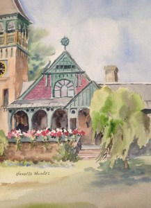 Painting of Grace Memorial Chapel