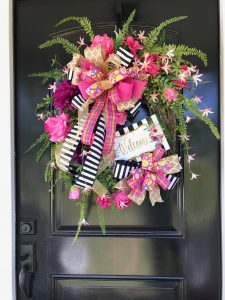 Summer Welcome Wreath