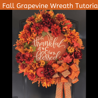 Learn to Make a Fall Wreath