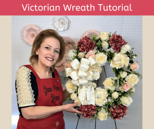 Victorian Wreath Tutorial