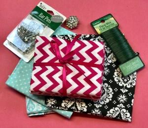 Easy Fabric Flower Pins