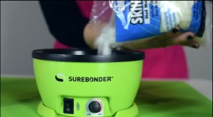 Surebonder Glue Skillet Makes Wreath Making Easier!