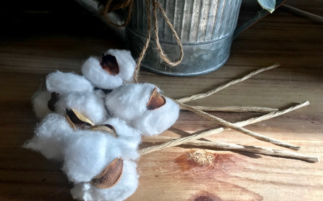 How to Make DIY Cotton Stems