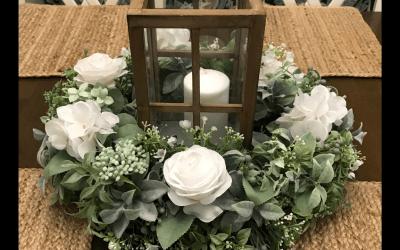 DIY Lantern Table Centerpiece