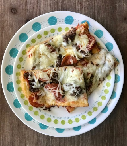 Low Carb Pizza with Fathead Crust