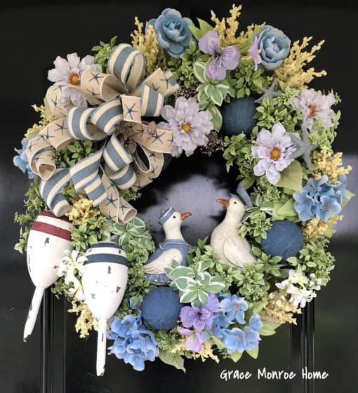Beach Themed Wreath